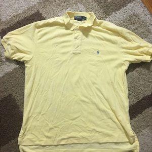 Ralph Lauren Men's Soft Shirt Size L Yellow AA176